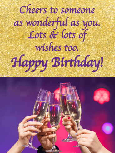 Lots & lots of wishes - Happy Birthday Wishes Card for Everyone