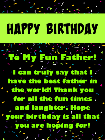 Best Dad - Happy Birthday Card for Father