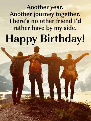 Irreplaceable Friend - Happy Birthday Card for Friends