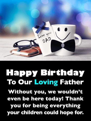 Cute Mug with Bowtie – Happy Father's Day for Father from Us
