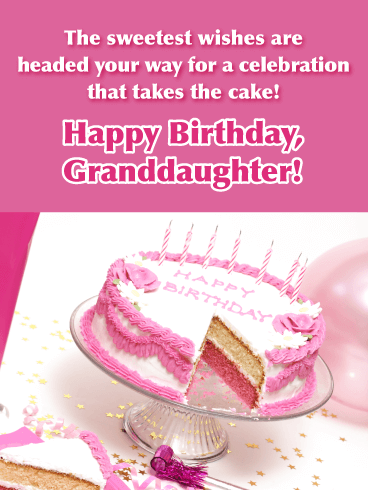 Make a Wish - Happy Birthday Cards for Granddaughter