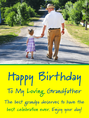 Best Celebration Ever! Happy Birthday Card for Grandfather
