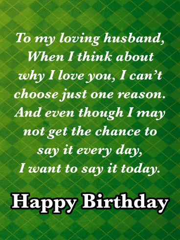 You are Special - Happy Birthday Wishes Card for Husband