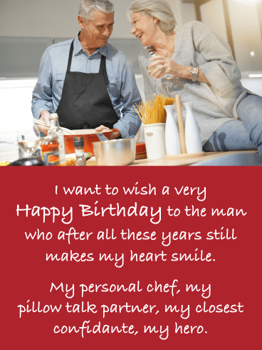 After All This Time- Romantic Birthday Card for Him