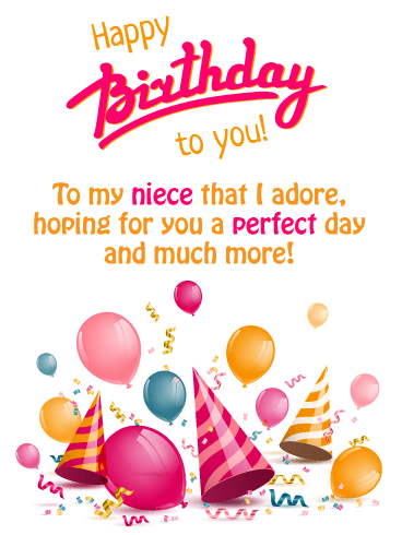 Excellent Birthday Wishes For Niece Birthday Wishes And Messages By Davia Funny Birthday Cards Online Alyptdamsfinfo