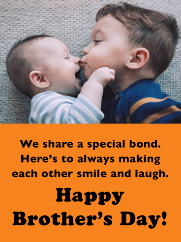 You Are Always My Cute Brother-Happy Brother's Day Card