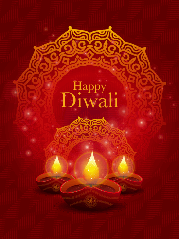 A Special Celebration - Happy Diwali Card