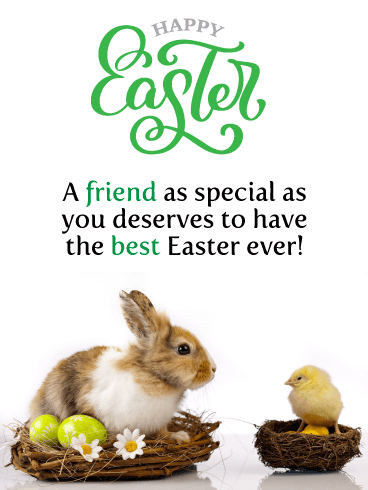 Happy Easter Wishes For Friend Birthday Wishes And Messages By Davia