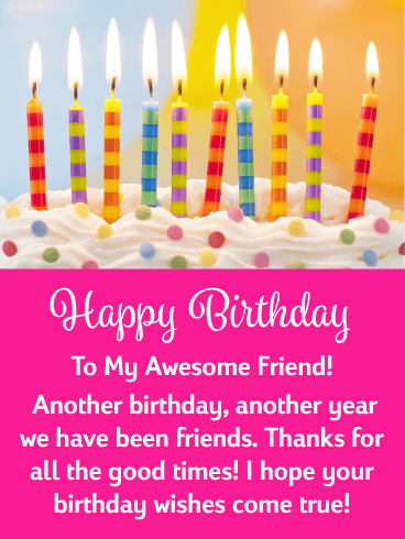 Surprising Happy Birthday Friend Messages With Images Birthday Wishes And Funny Birthday Cards Online Elaedamsfinfo