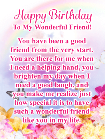 Surprising Happy Birthday Friend Messages With Images Birthday Wishes And Funny Birthday Cards Online Aboleapandamsfinfo
