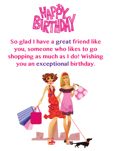 To My Best Friend - Happy Birthday Card for Friends