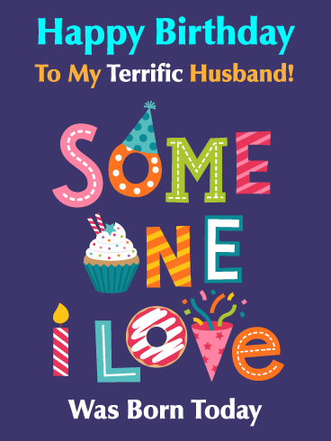You're Terrific! Happy Birthday Card for Husband