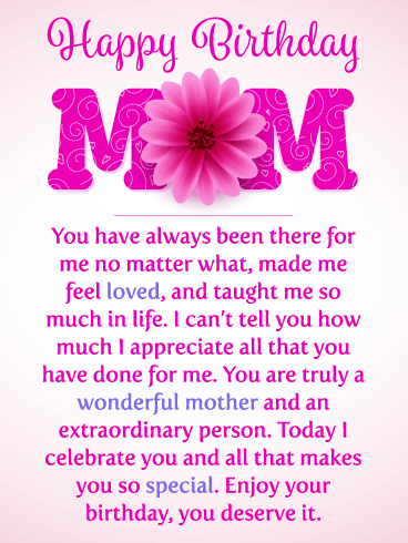 happy birthday mom messages with images birthday wishes and
