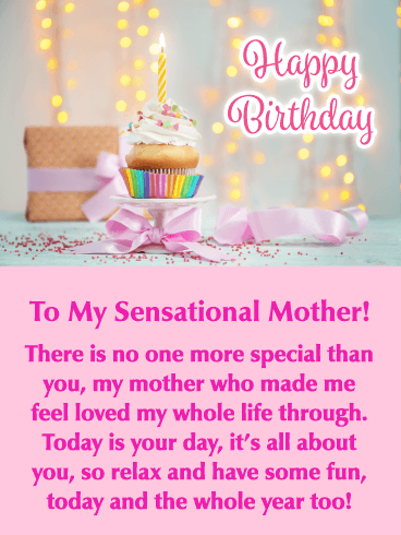 It's Your Day - Happy Birthday Card for Mother