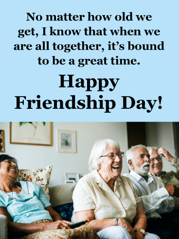 We're all Together- Happy Friendship Day Card