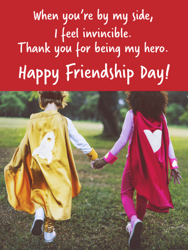 Touching and Adorable Friendship Day Card