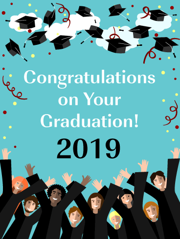 An Exciting Day! Graduation Card 2019