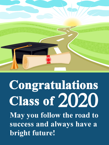 A Bright Future - Graduation Card 2020
