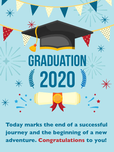 Your New Adventure! Graduation Card 2020