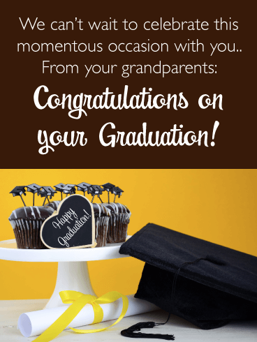 Momentous Occasion - Graduation Card from Grandparents