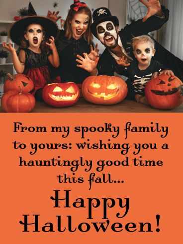 Hauntingly Good Time - Happy Halloween