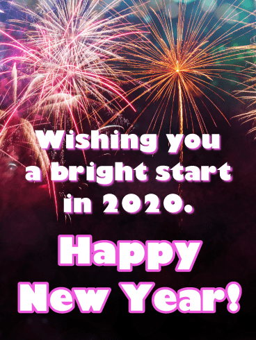 A Bright Start in 2020 - Happy New Year Wishes for 2020