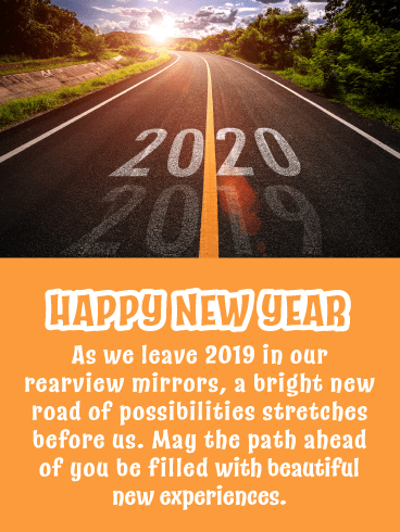 Leave 2019 in the Dust - Happy New Year Wishes for 2020