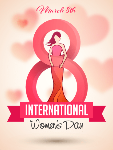 A Special Celebration – International Women's Day Card