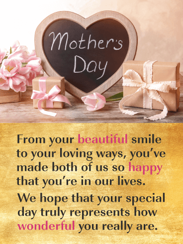 You're Loving Ways - Happy Mother's Day Card from Both of Us