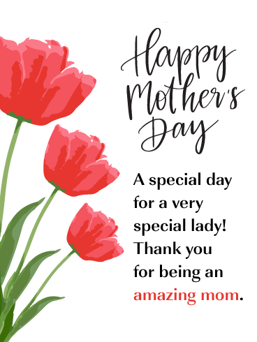 A Spectacular Woman - Happy Mother's Day Card from Daughter