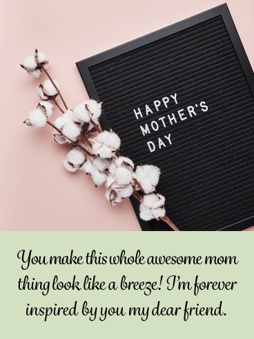 Breezy Momma - Happy Mother's Day Card for Friends