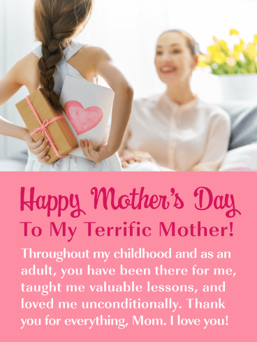 Unconditional Love - Happy Mother's Day for Mother