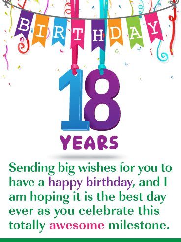 Groovy The Best Day Ever Happy 18Th Birthday Card Birthday Greeting Funny Birthday Cards Online Alyptdamsfinfo