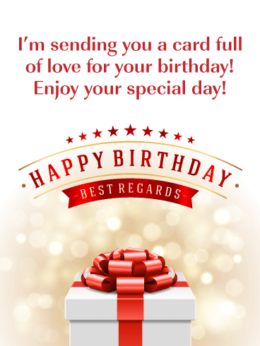 Extra Special - Happy Birthday Card