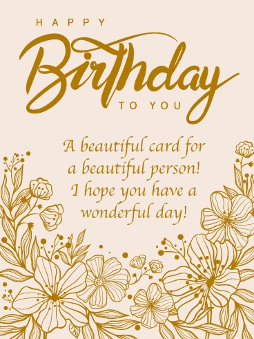 Your Smile Lights the World - Happy Birthday Card