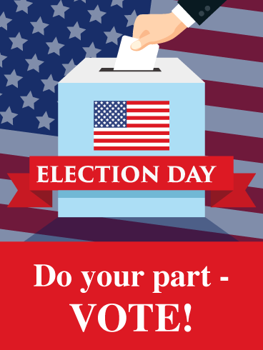 Do Your Part - Election Day Card