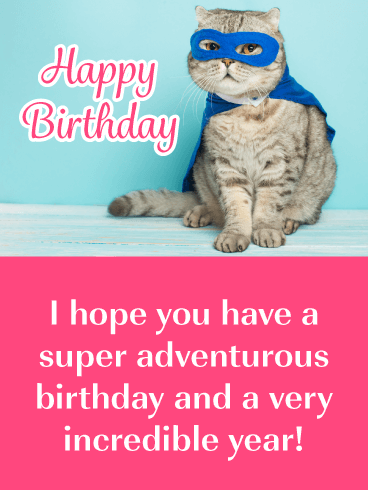 Cat Greeting Cards 127 Be Adventurous