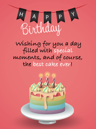 Sensational Best Happy Birthday Wishes With Images And Pictures Birthday Personalised Birthday Cards Veneteletsinfo