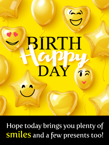 Time to Smile – Happy Birthday Card