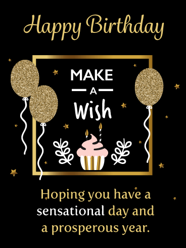 Make a Wish on this Special Day! - Happy Birthday Card