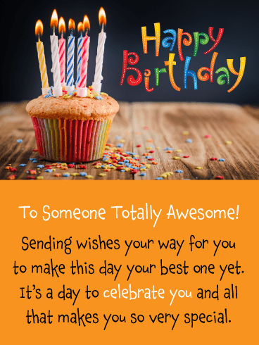 It's a Day to Celebrate You! - Happy Birthday Card