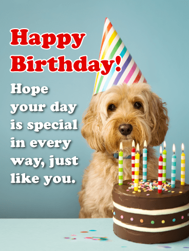 Special in Every Way - Happy Birthday Card