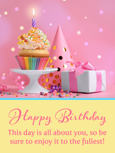 Enjoy Your Lovely Day – Happy Birthday Card