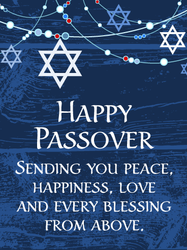 Thoughtful Happy Passover Cards