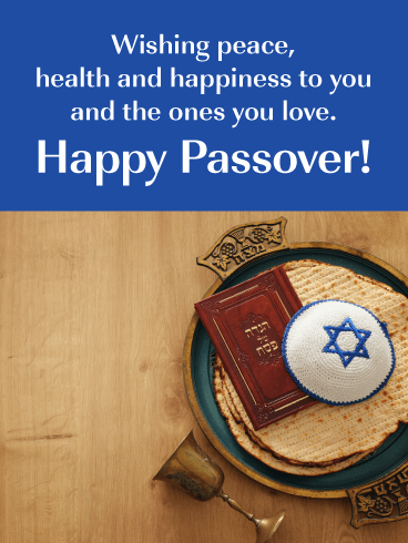 Love_Peace_Health _Happy Passover Card