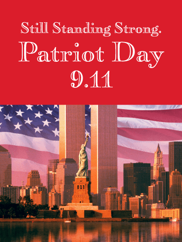 Standing Strong - Patriot Day Card