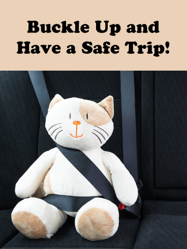 Buckle Up- Have a Safe Trip Card