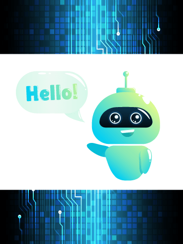 How Bot That- Saying Hi Card