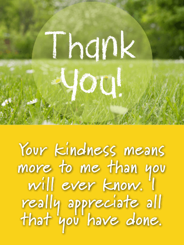 My Deepest Gratitude - Thank You Card
