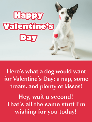 Doggone Good Time - Funny Valentine's Day Card for Everyone